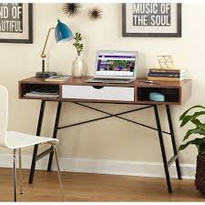 brilliant simple desks. Desk Impressive Simple Living Mid Century Edison Free Shipping Today Inside Computer Modern The Most Brilliant Desks