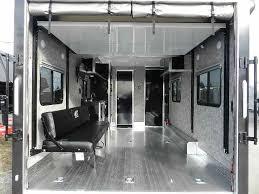 carmate 8 5 x 20 custom enclosed car trailer finished interior