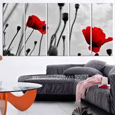 large canvas art red poppy flower canvas print 60 x 32 red on red poppy flower wall art with large canvas art red poppy flower canvas print 60 x 32 red