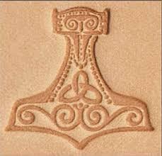 craftool 3 d leather stamp mjolnir thor s hammer