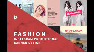 Instagram Banner Design How To Design Instagram Fashion Banner