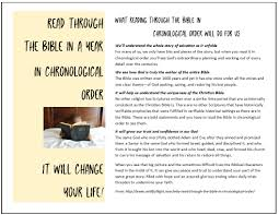 Read The Bible In A Year Chronological Chart Free Templates Read Through The Bible In A Year Templates
