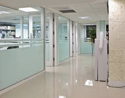 4 office partition designs