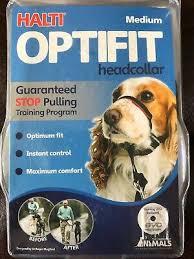Halti Optifit Headcollar For Dogs M Size Guaranteed To Stop Pulling Optimum Fit 886284125208 Ebay