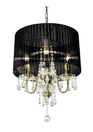 chandeliers black chandelier ceiling light shaded with crystal drops by made love designs ltd lights black