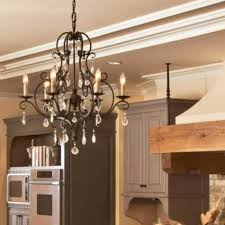 awesome remarkable crystal chandelier in oil rubbed bronze finish
