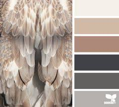 office color palette. Feathered Tones - Color Palette From Design Seeds Office