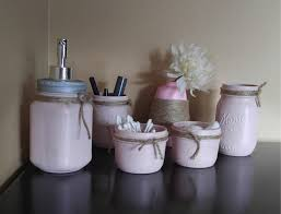 Mason Jar Bathroom Accessories Fascinating Handmade Bathroom Organization Ideas