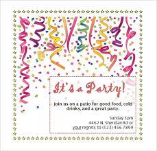 invitation party templates 43 invitations templates free for word invitation template word
