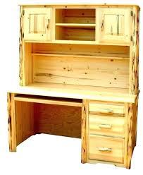 unfinished furniture desk secretary desk with storage