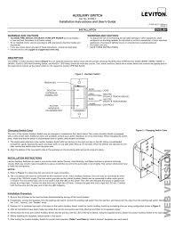 Leviton Hai 37a00 1 Install Manual Manualzz Com