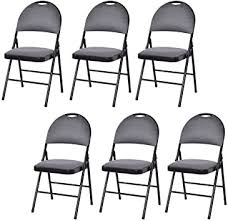 Giantex 6-Pack Folding Chair with Handle Hole ... - Amazon.com