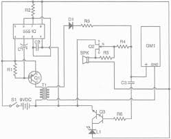 how to make a geiger counter count ee times schematic for the geiger counter