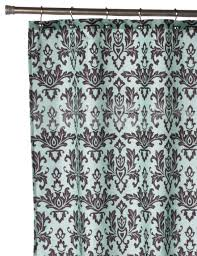 com carnation home fashions damask fabric shower curtain chocolate on green home kitchen