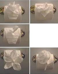 Toilet Paper Origami Flower Instructions Toilet Paper Origami Book