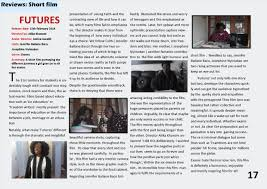 magazine review planning futures short film  film review sample 1