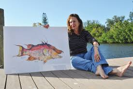 Linda Heath: Artistic Angler | Arts and Entertainment | Your Observer