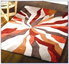 red black gray rug red and grey area rug burnt orange and grey area rugs red