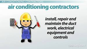 Heating Air Conditioning And Refrigeration Mechanics And Installers Become An Air Conditioning Contractor Step By Step Career Guide
