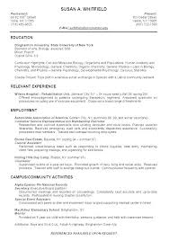 High School Resume For College Gorgeous Resume Examples For College Students With Work Experience Stanmartin