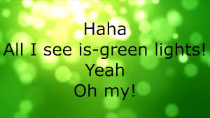 All I See Is Green Lights Nf Green Lights Lyrics Youtube