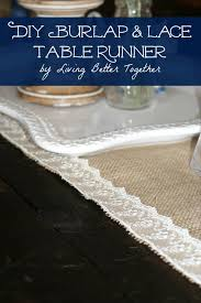 i fell in love with a burlap and lace table runner on a few months back and knew it would be perfect for my dining room makeover and farmhouse table