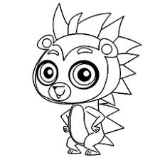 Lps Cat Coloring Pages At Getdrawingscom Free For Personal Use