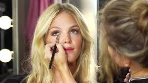 victoria secret makeup get the look erin heatherton for dream angels
