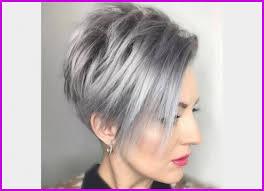 Coiffure Courte Femme 2018 Cheveux Gris 81965 Coiffure Court