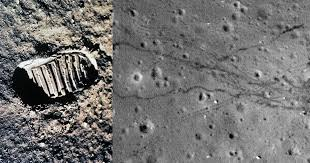 Footprints on the <b>Moon</b>: Photos with a Different View of the <b>Moon</b> ...