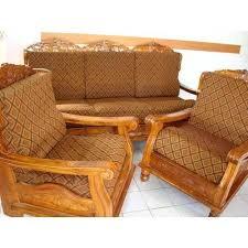 wooden sofa design teak wood sofa with er wooden sofa design image