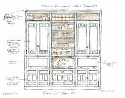 Nastasi Vail Design Interior Design Built In Sketches By Nastasi Vail Built