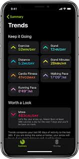 track daily activity with apple watch