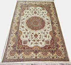 details about erami pure silk masterpiece qoum persian rug extremely fine 5x7 bright color