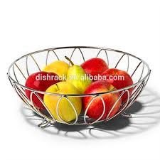Decorative Metal Fruit Bowls
