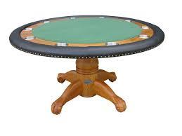 60 round table in oak by berner billiards