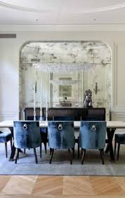 beautiful antique mirror in the dining room if you don t have a niche you could create the same effect with a heavy moulding antique your own mirrors with