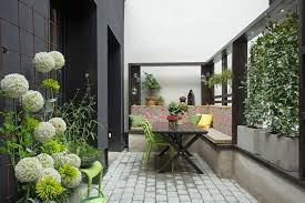 fancy small and covered indoor garden