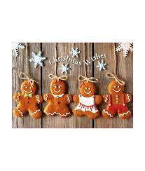 Christmas Card Photo Gingerbread Fun Christmas Card Pack Of 10 Cancer Research Uk
