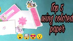 Diy Alkansya Design 5 Ways Diy Designs Using Colored Paper Philippines