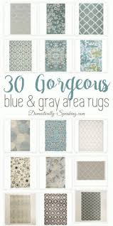 photo 1 of 8 blue gray area rug 1 30 beautiful blue and gray large area rugs for your