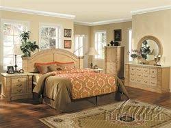 Marble Top 6 Piece Mystic Bedroom Set in Maple Finish by Acme ...