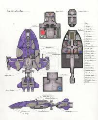 Map Samples  Keith CurtisSpaceship Floor Plan