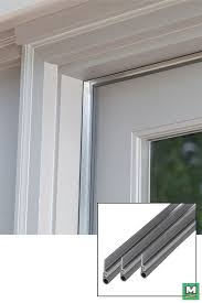 insulate drafty doors with this cinch door jamb kit by creating an airtight seal