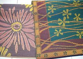 recycled plastic rugs made from uk mad mats indoor outdoor woven rug