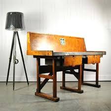 vintage factory furniture. Vintage Factory Furniture Workbench Industrial Original House Custard .