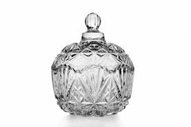 Decorative Glass Jars With Lids Wholesale Cheap Fancy Clear Christmas Decorative Cookie Sugar Bowl 42