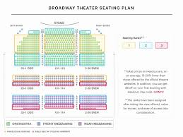 Gershwin Seating Chart Valid Seating Chart For Broadway Theater Gershwin Theatre