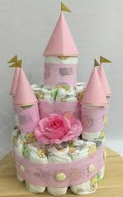 Diaper Castle Cake For Girl End 9122019 915 Pm