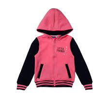 justees toddler girls little friends jacket in pink